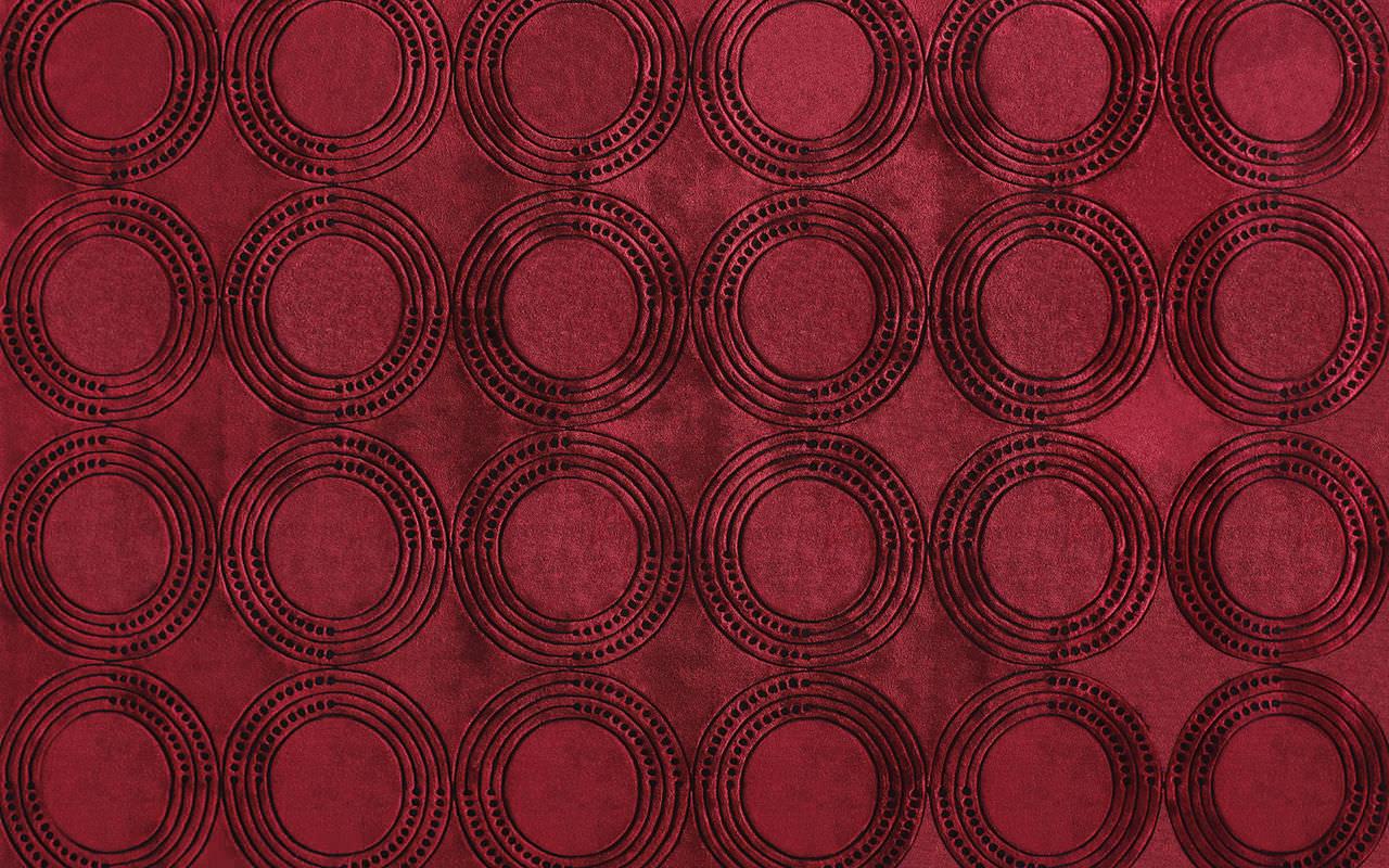 Tappeto moderno / a motivi / in lana / rettangolare - TAMBOUR - SAHCO
