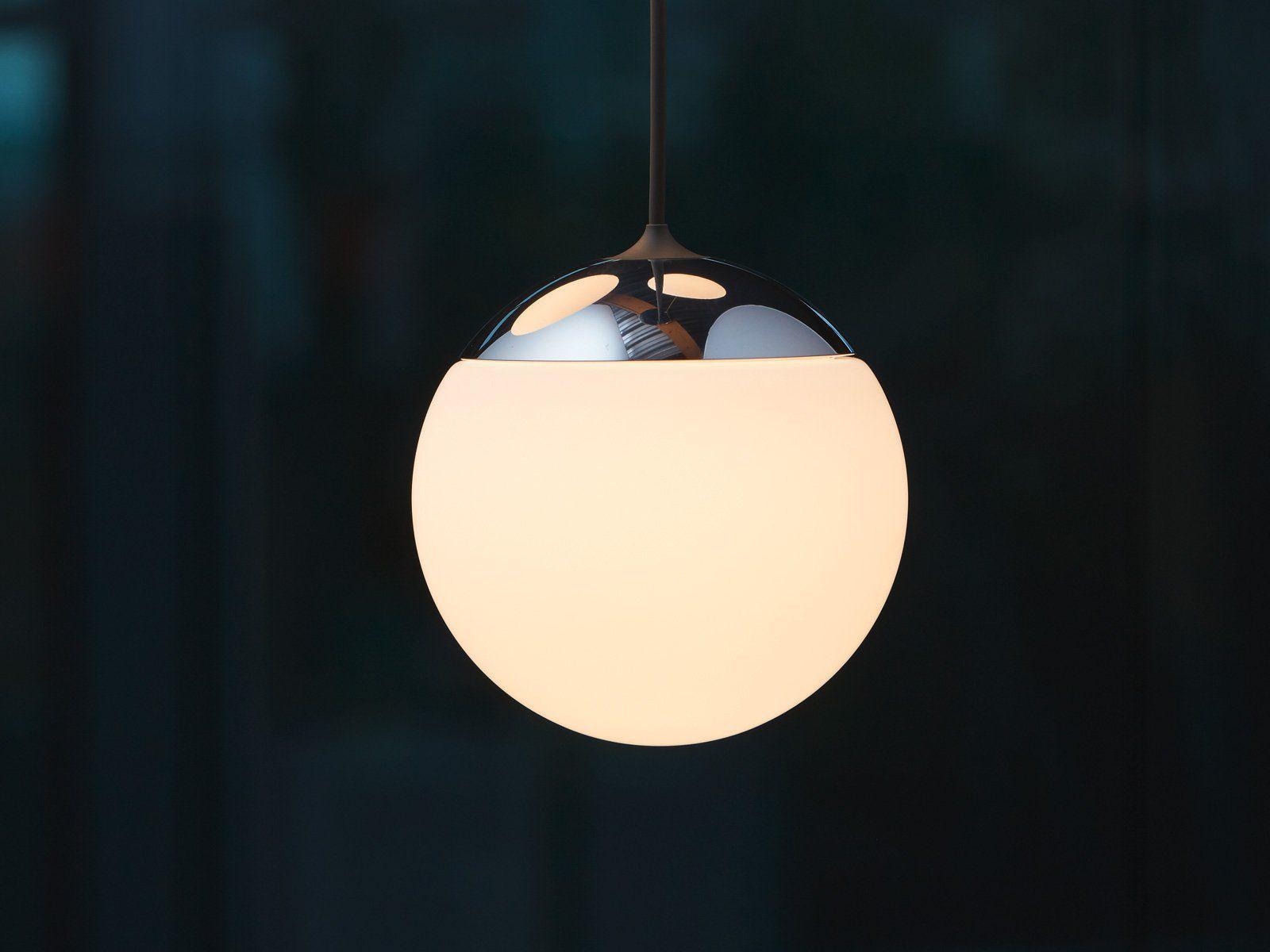 Lampada a sospensione moderna in vetro soffiato dimmerabile