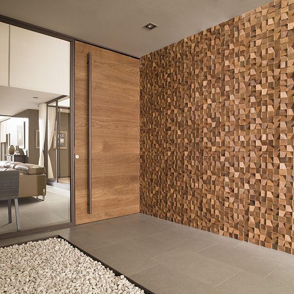 Mosaico da interno / da parete / in legno / opaco - WOOD FEEL - L ...