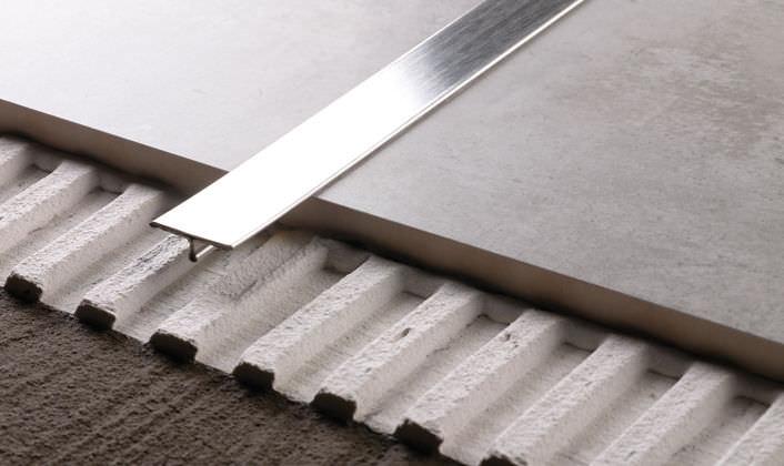 Profilo di separazione in acciaio inox in ottone in alluminio