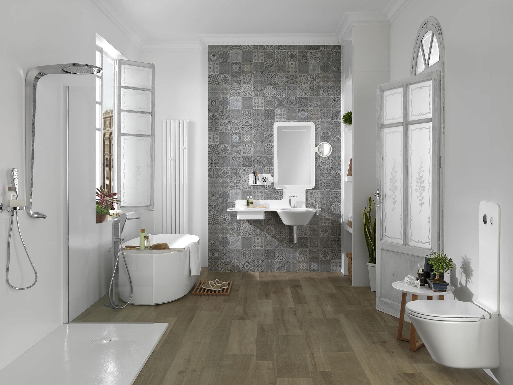 bagno moderno / in ceramica - mood - noken porcelanosa bathrooms - Ceramiche Bagni Moderni