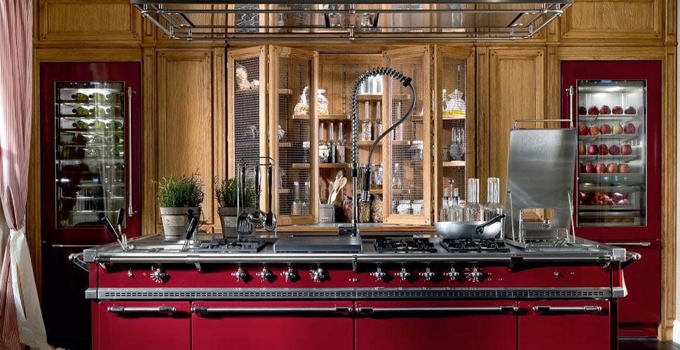 Cucina classica / in legno / con isola / laccata - MONTEREY: THE ...