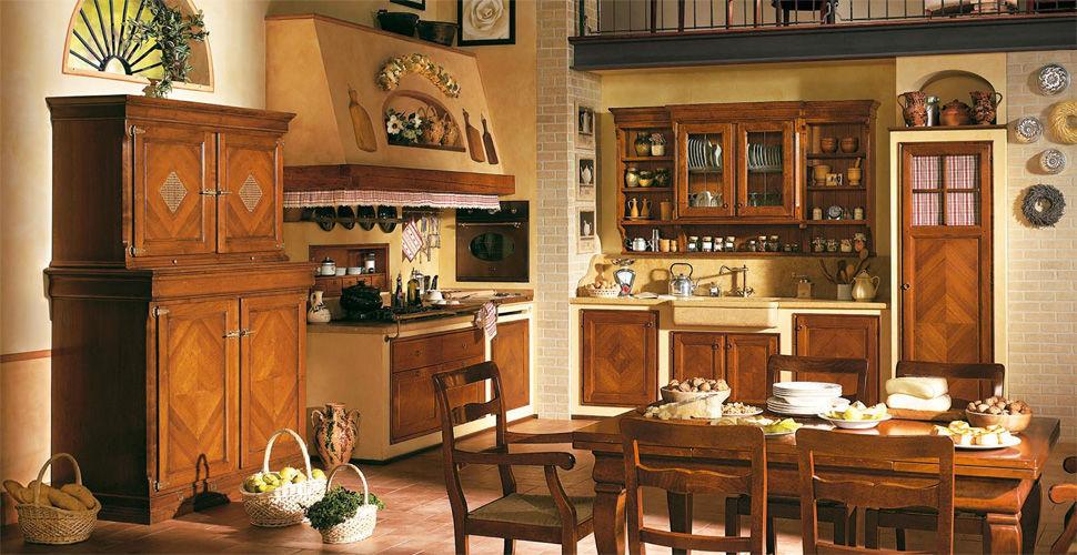 Mobile alto per cucina in noce - ANTIQUA - L\'OTTOCENTO