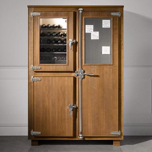 Mobile alto per cucina tradizionale / in legno - DISPENSA FREDDA - L ...