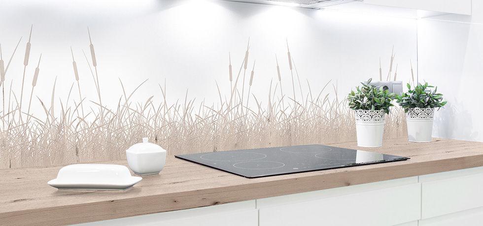 Pannello decorativo di rivestimento / in HPL / per cucina / da ...