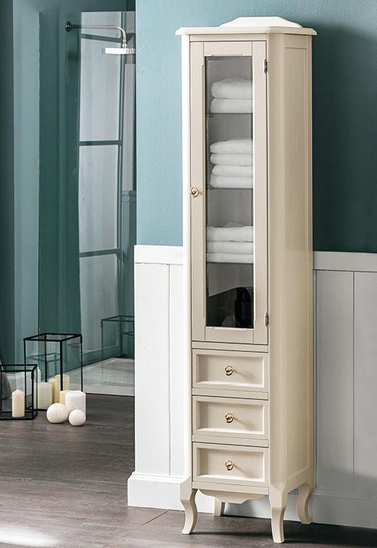 Mobile colonna da bagno / classico - REBECCA: H 186 - EBAN