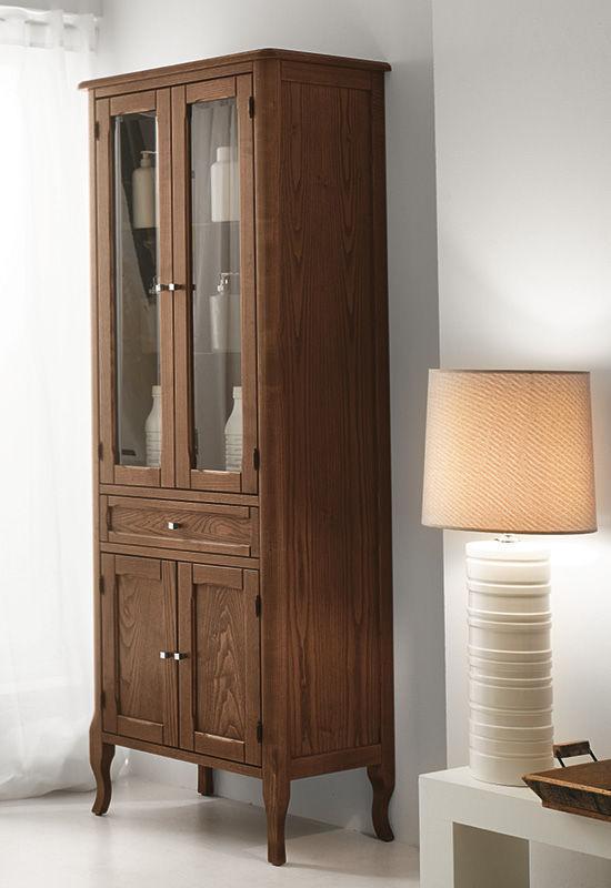 Mobile da bagno classico / in legno / con cassetti - SABRINA - EBAN