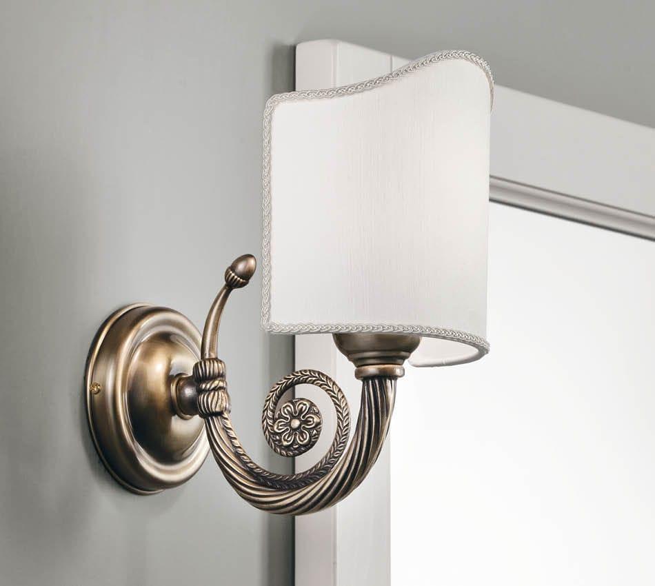 Applique classica / da bagno / in metallo / per specchio - STELLA ...