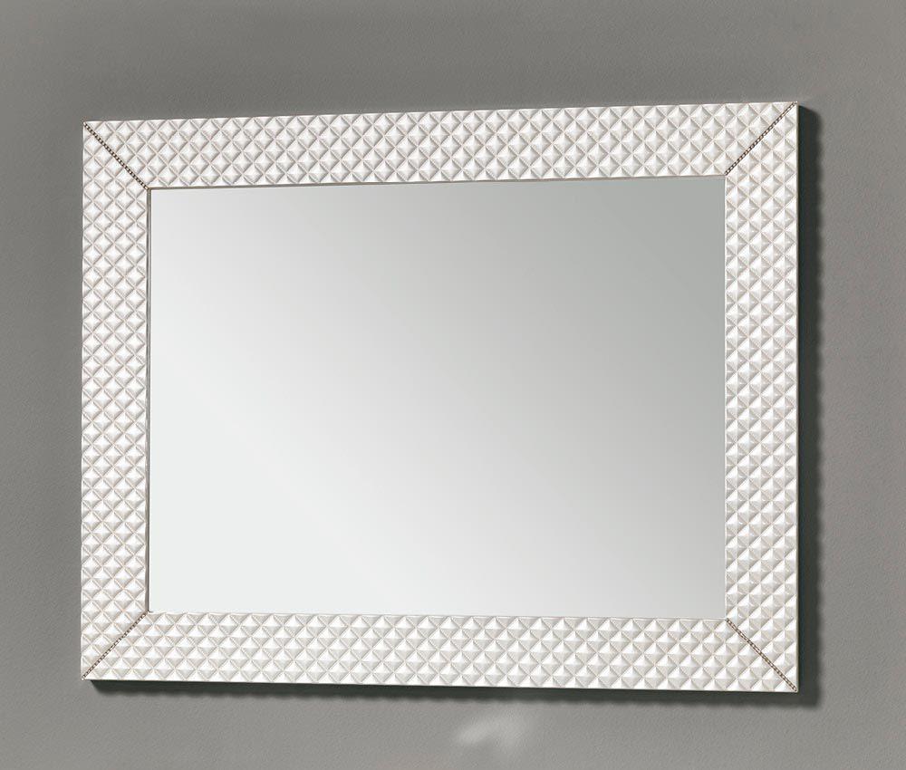 Specchi Da Muro Moderni.Specchio Da Bagno A Muro Moderno Rettangolare Swan Eban