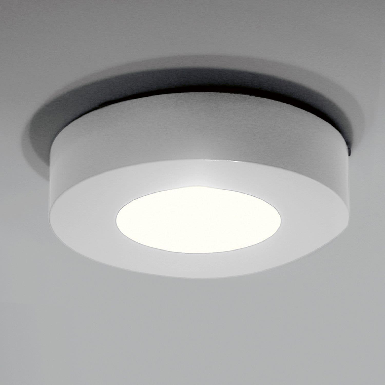 Plafoniera design originale / rotonda / in alluminio / LED ...