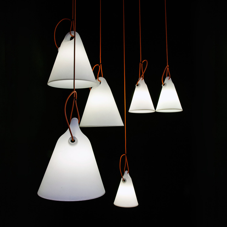 Lampada a sospensione / design originale / in polietilene / da ...