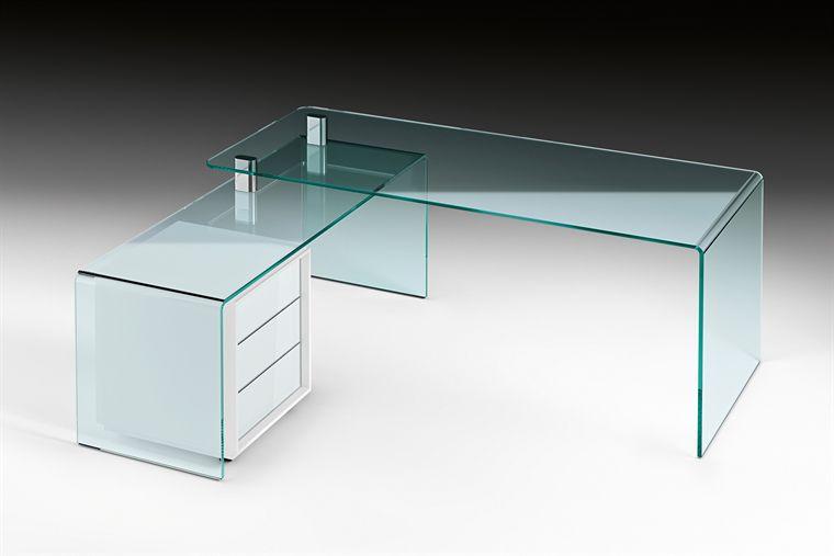 Scrivania in vetro / moderna / d\'angolo - RIALTO ISOLA by Crs Fiam ...