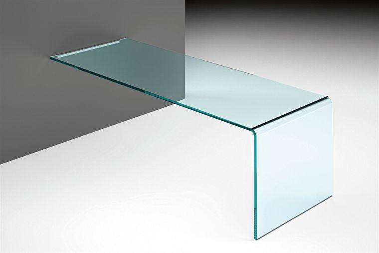 Scrivania in vetro / in pelle / moderna / a muro - RIALTO L by Crs ...
