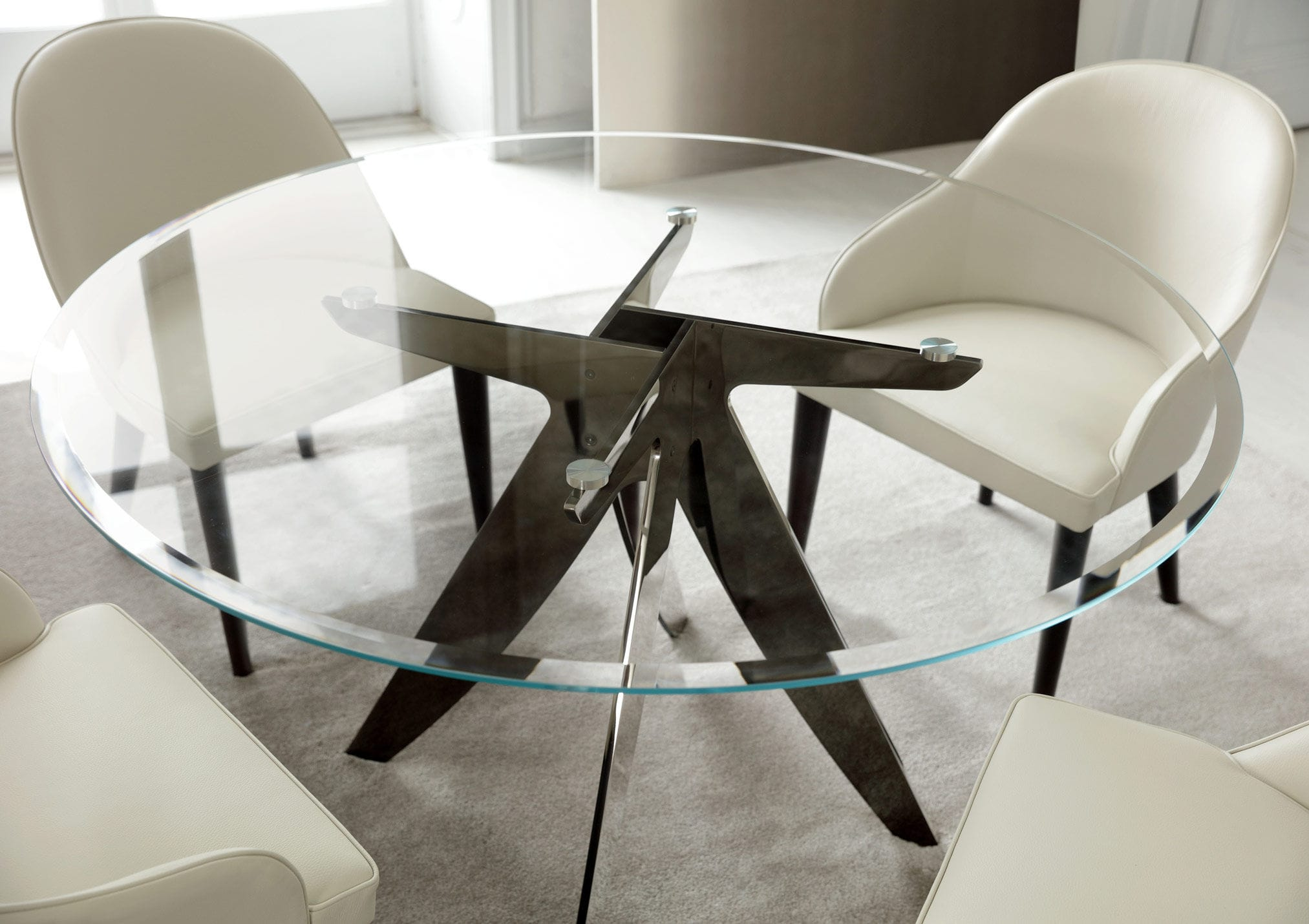 Tavoli Da Pranzo Moderni In Cristallo | Epicsports