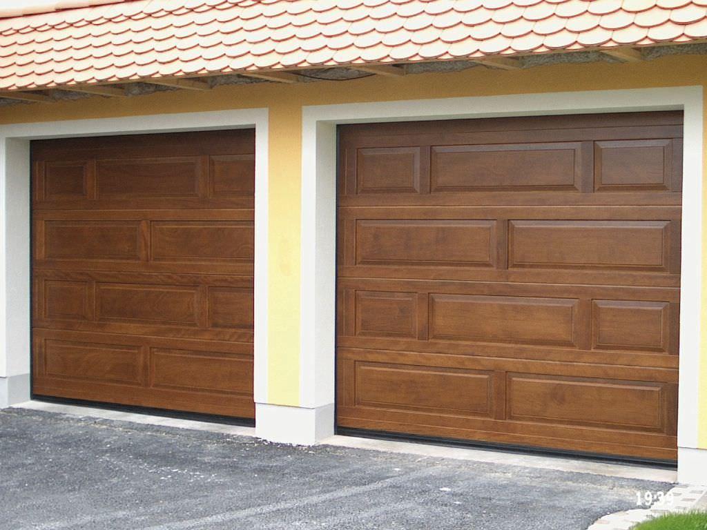 Bien-aimé Porte sezionali per garage / in legno / automatiche - TOP - Breda  IM42