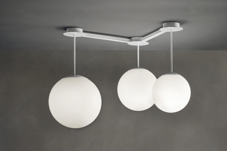 Lampada a sospensione design originale in pmma led