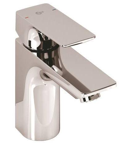 miscelatore per lavabo in metallo cromato da bagno 1 foro strada