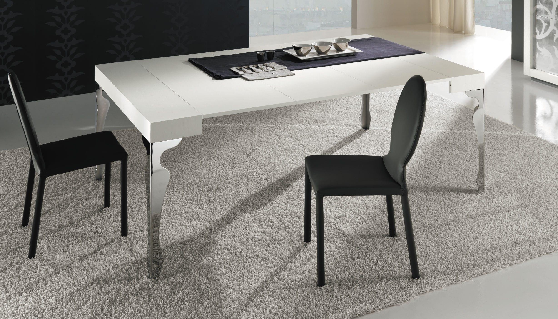 Consolle moderna / in legno / in acciaio / rettangolare - LUXURY ...