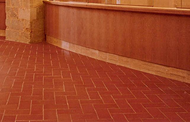 Piastrella da interno da esterno da pavimento in terracotta