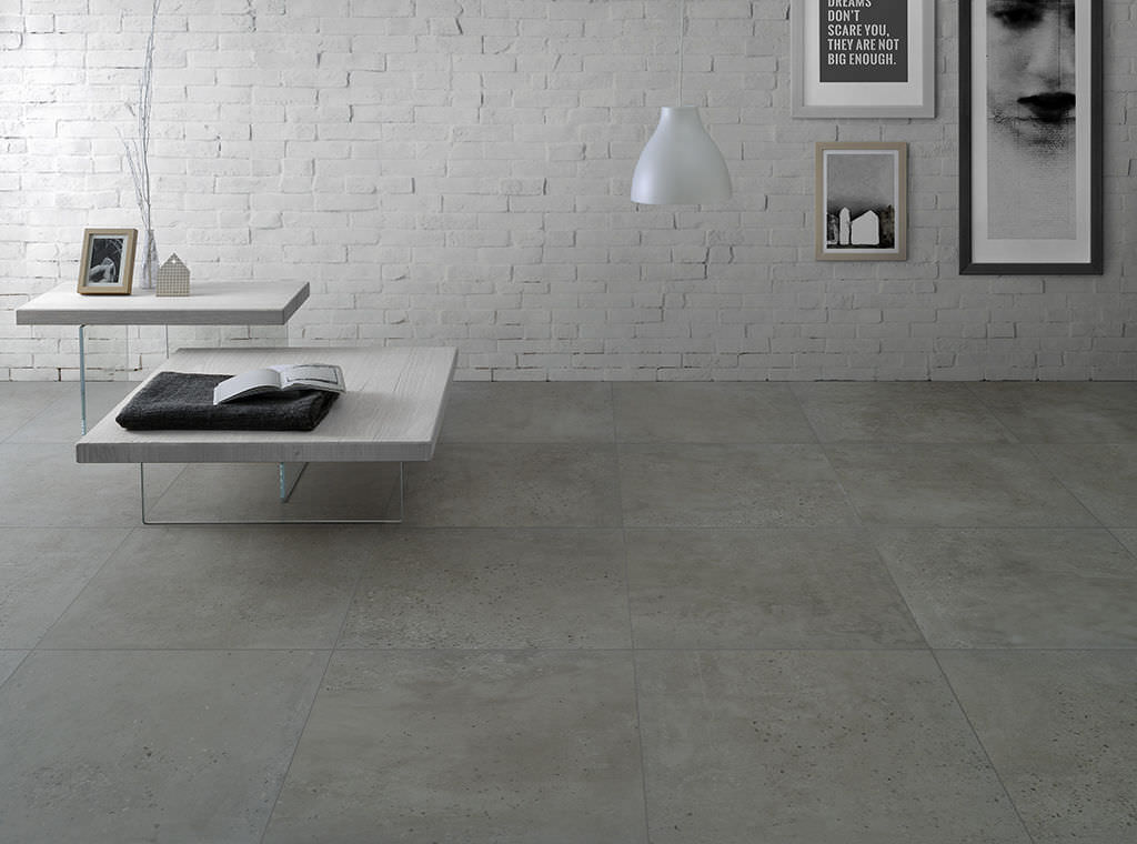 Piastrella da bagno da pavimento in gres porcellanato motivo