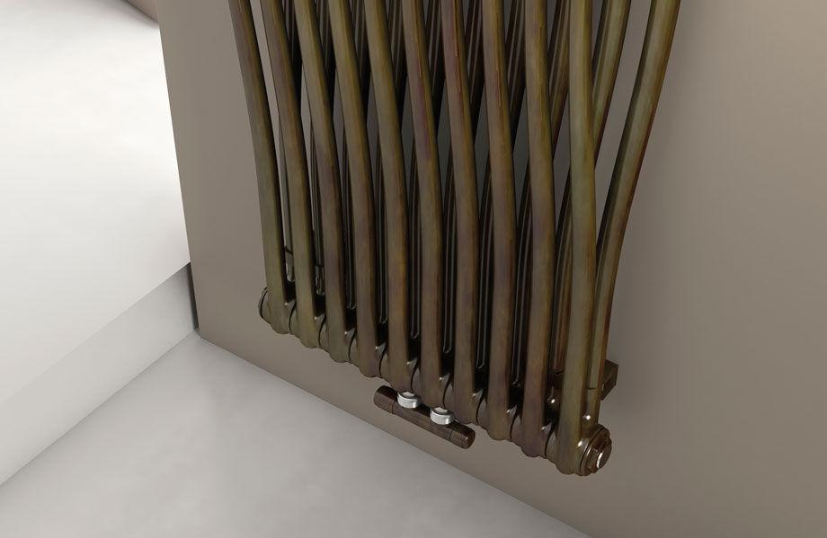 Radiatore ad acqua calda / in lamiera d\'acciaio / moderno / con ...