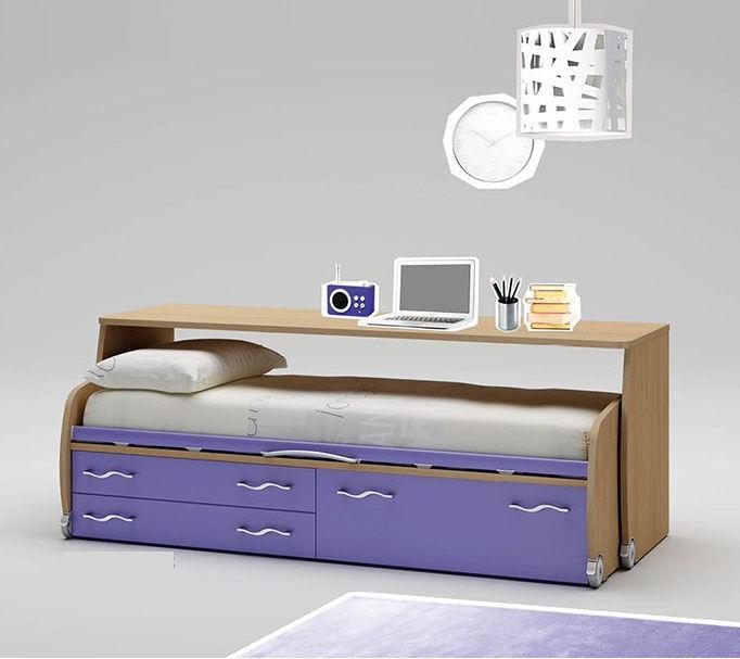 Letto con letto estraibile / singolo / moderno / a cassetti - WP004 ...