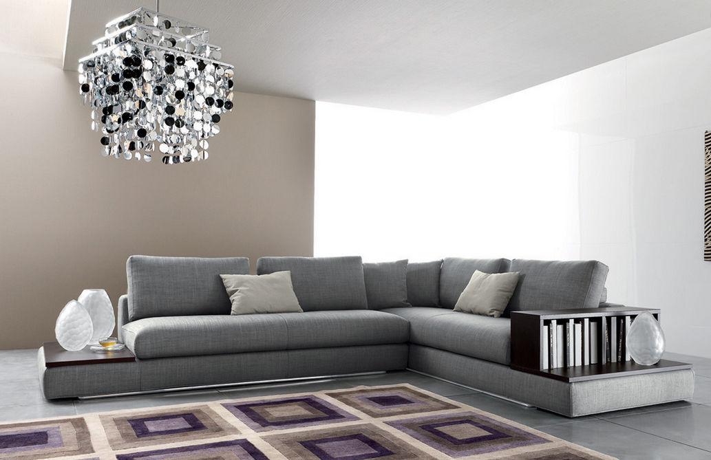 Divano d\'angolo / modulare / moderno / in legno - BIJOUX - Ditre Italia