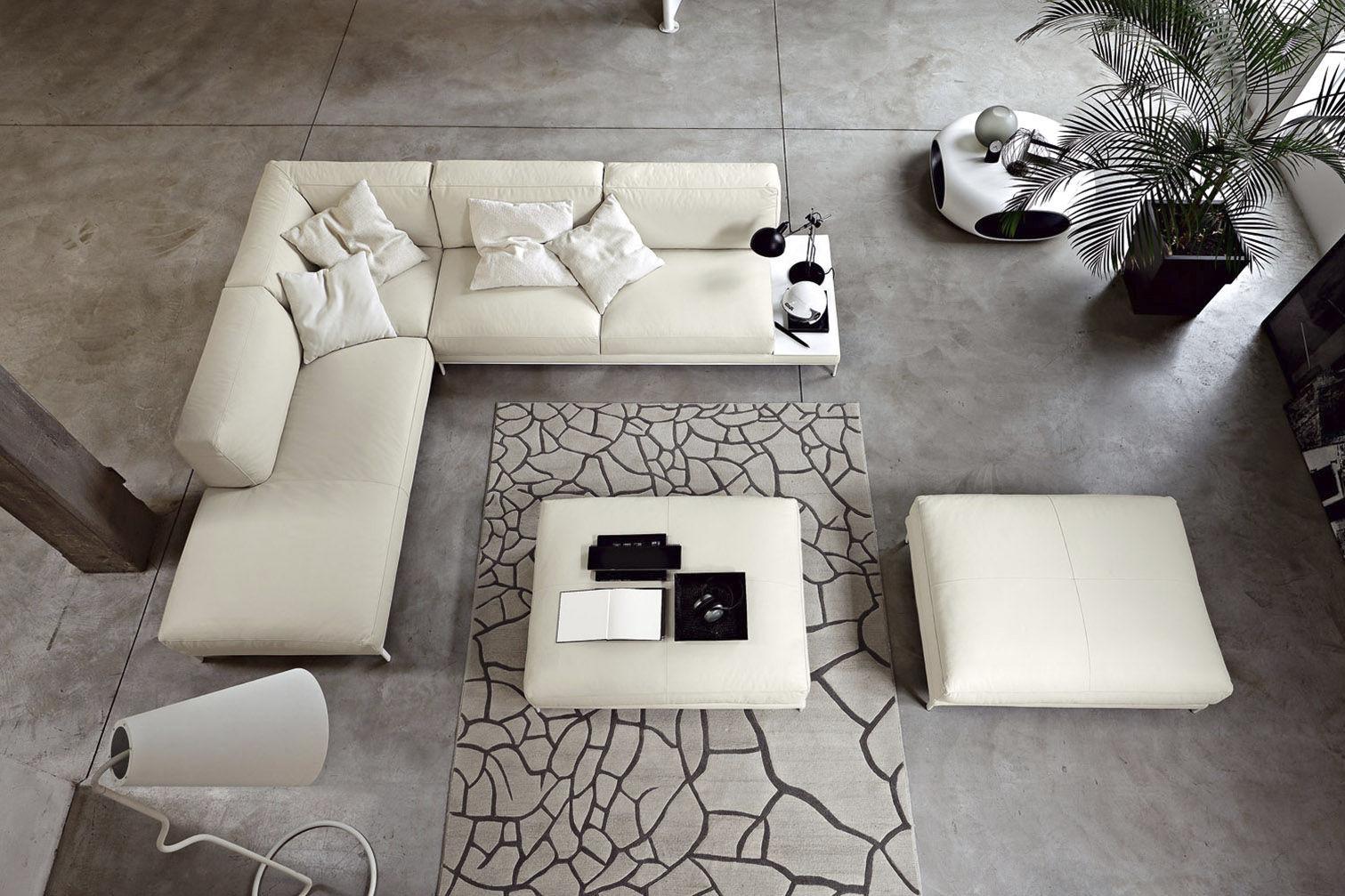 Divano d\'angolo / modulare / moderno / in pelle - SHADE by Spessotto ...