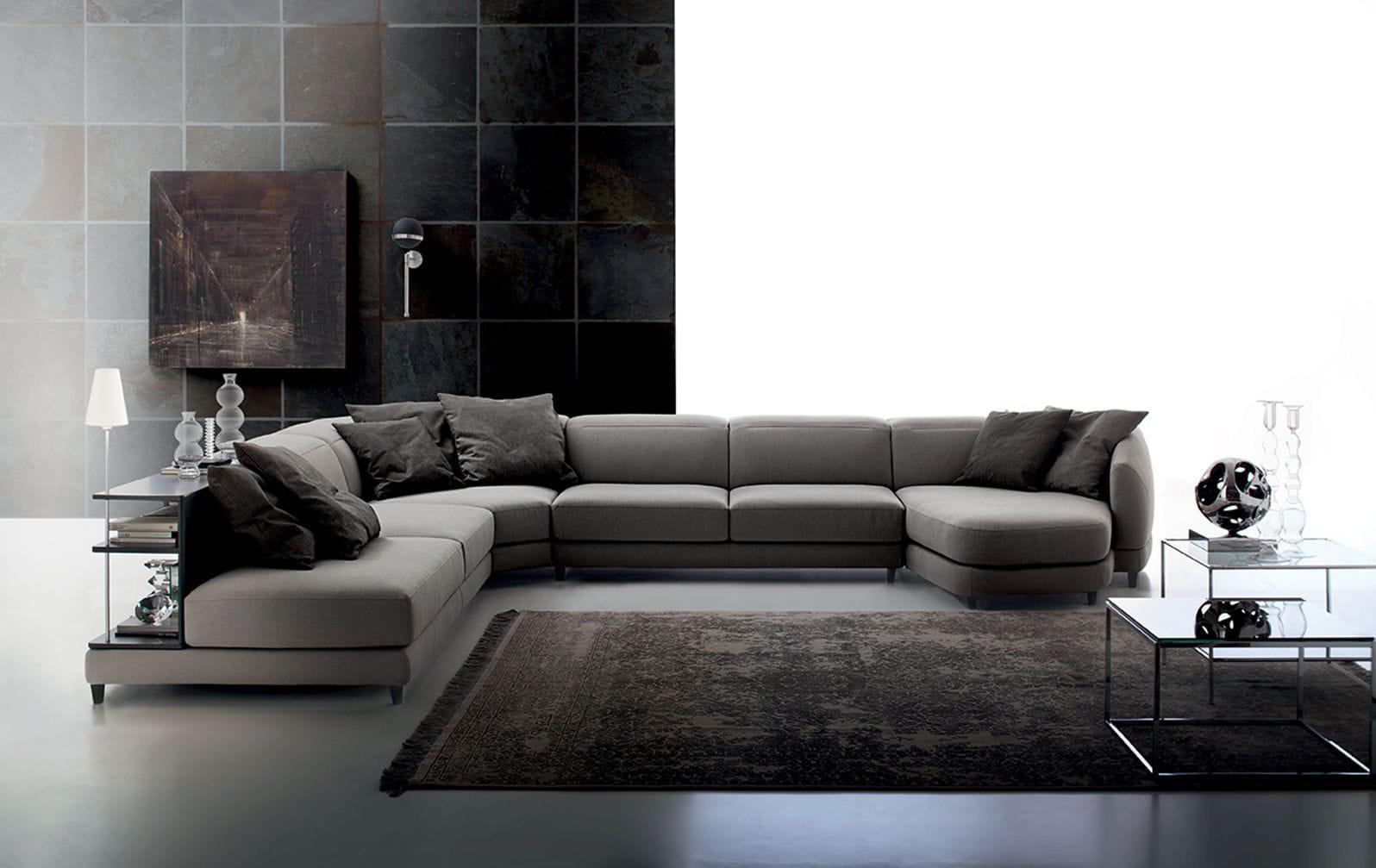 Divano modulare / d\'angolo / moderno / in pelle - DUNN by Spessotto ...