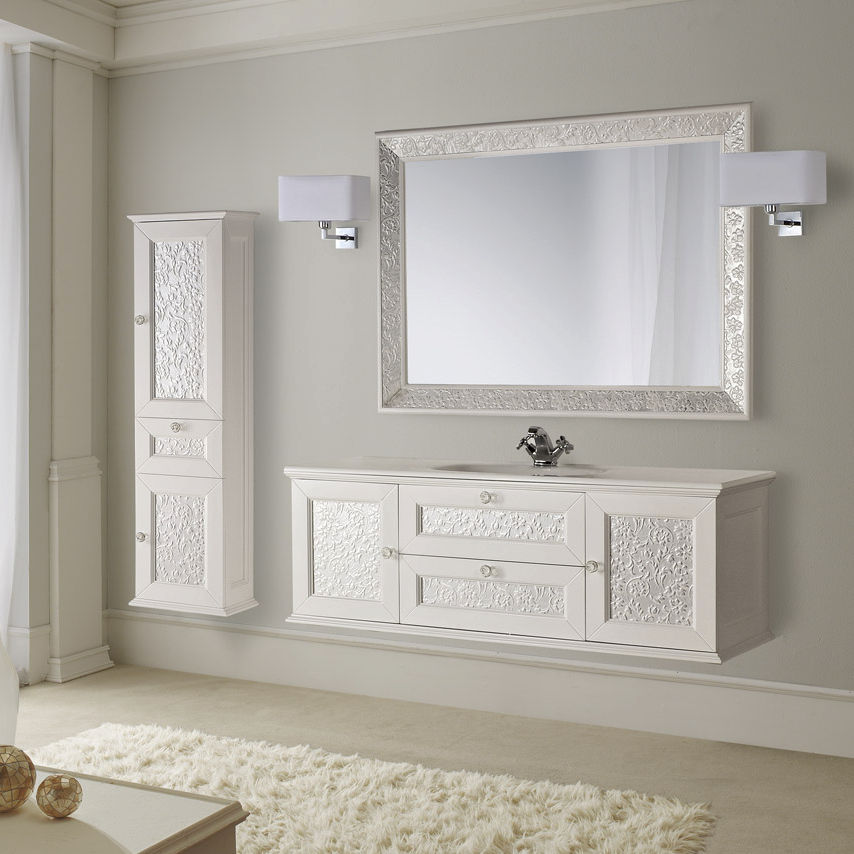 mobile lavabo in legno / moderno / in kit - eros - mobili di castello - Mobili Moderni Legno