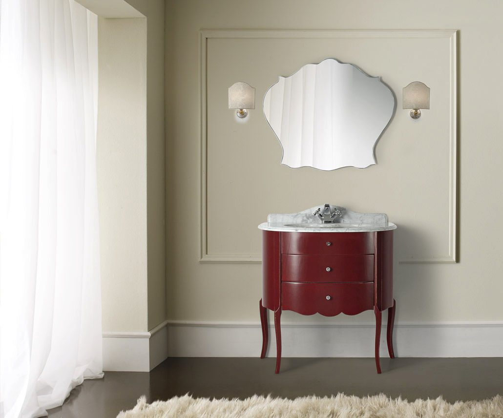 Mobile lavabo da appoggio / in legno / classico - CASSIOPEA ...