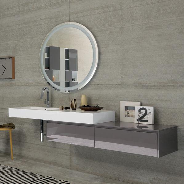 Mobile basso da bagno / da parete - TULLE COMP_5 - ARCHEDA
