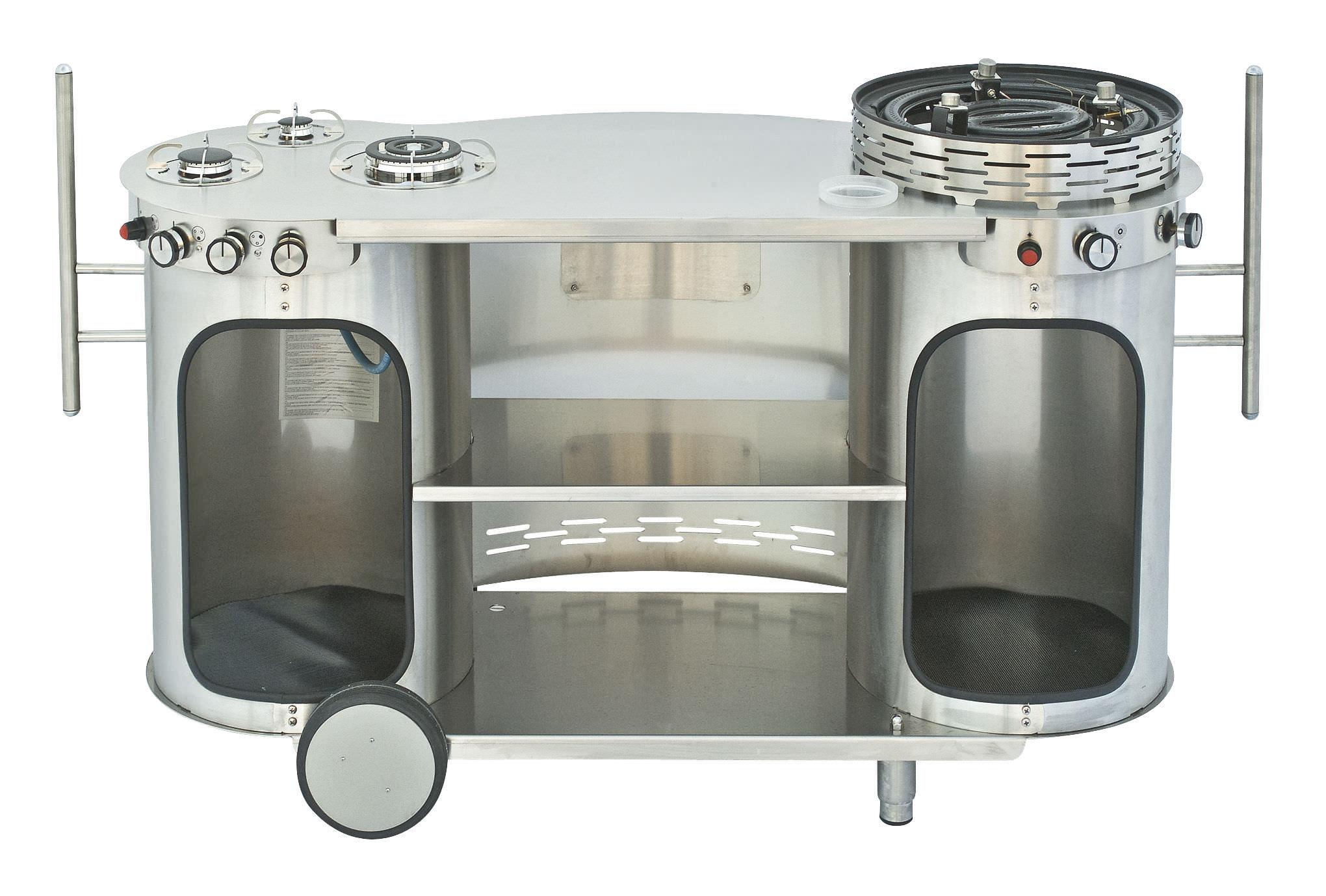 Cucina in acciaio inox / modulare / professionale / mobile ...