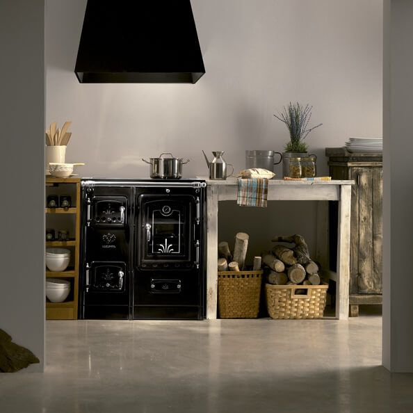 Blocco cucina a legna / in ghisa - LIS - Lacunza