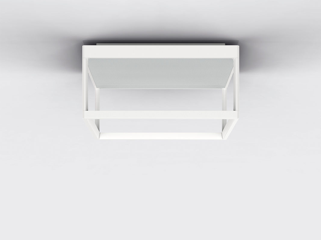 Plafoniere Quadrate Eleganti : Plafoniera moderna quadrata rettangolare in alluminio