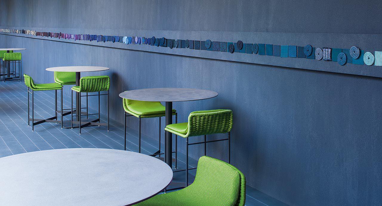 Villana sgabello per adirondack sedia in legno di acacia bianco