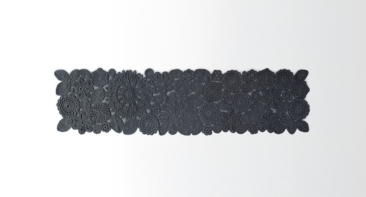 Tappeto Alluncinetto Rettangolare : Tappeto moderno a motivi in fibre sintetiche rettangolare