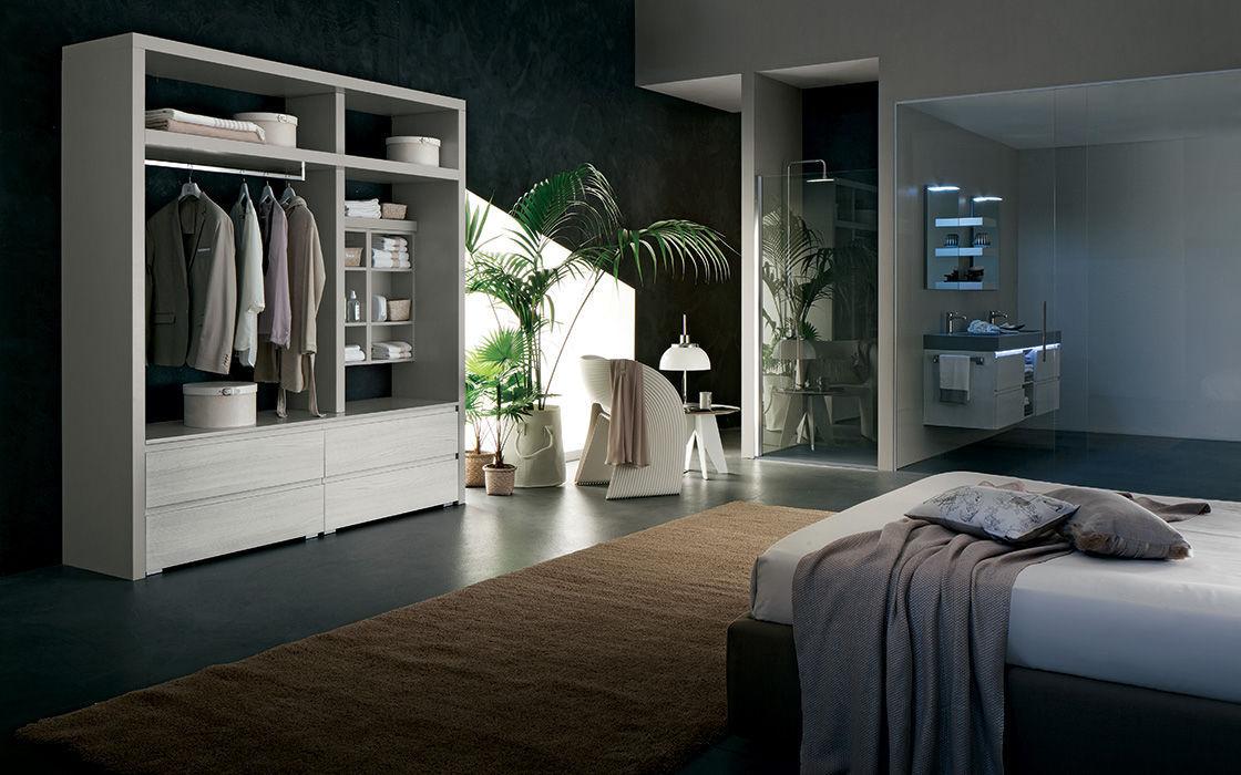 mobile lavabo doppio / sospeso / in legno / moderno - hope: ab6100 ... - Rab Arredo Bagno