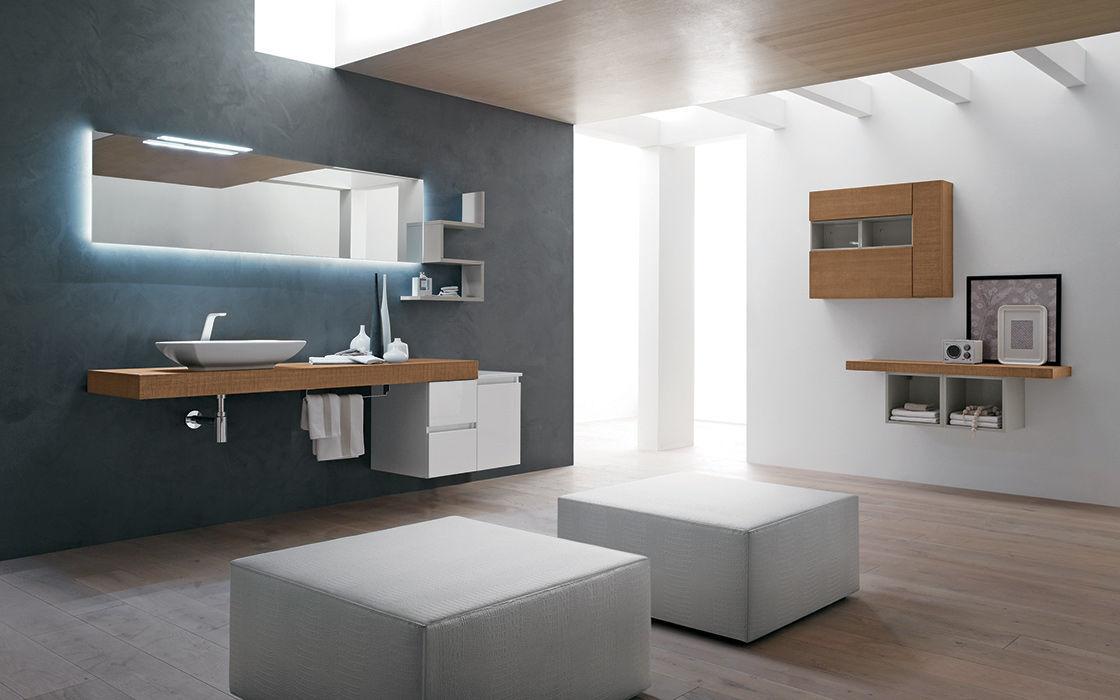 Piano lavabo in legno - PROGRAMMA CORONA - RAB ARREDOBAGNO - Video