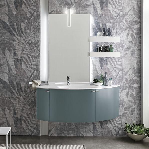 Mobile lavabo sospeso / in legno / moderno / con cassetti - CAMMEO ...