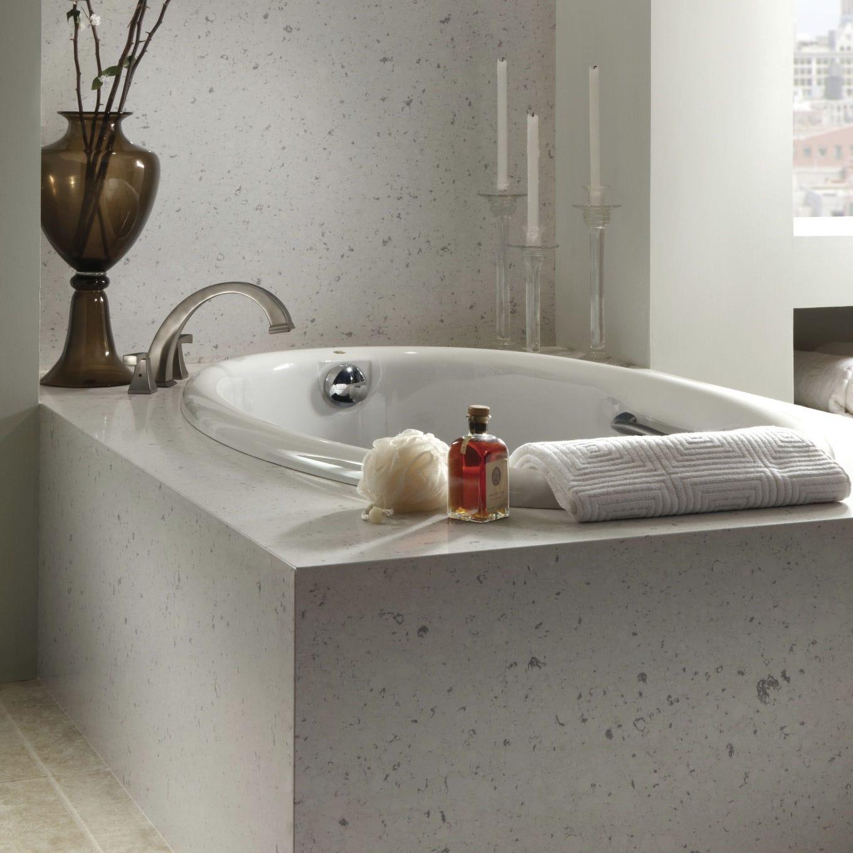 Rivestimento vasca da bagno rettangolare - BIANCO RIVERS - Cosentino
