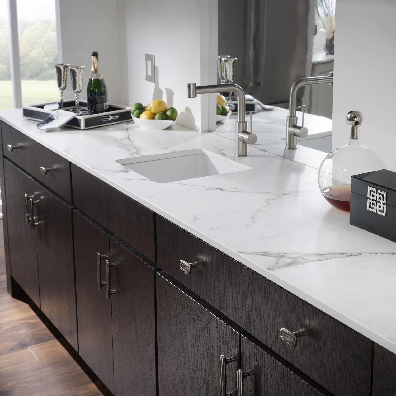 Piano di lavoro in marmo / da cucina / grigio - KAIROS - Cosentino