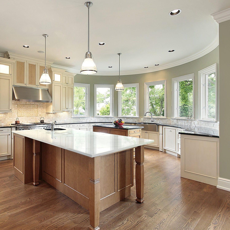 Piano di lavoro in marmo / da cucina / bianco / grigio - TUNDRA ...