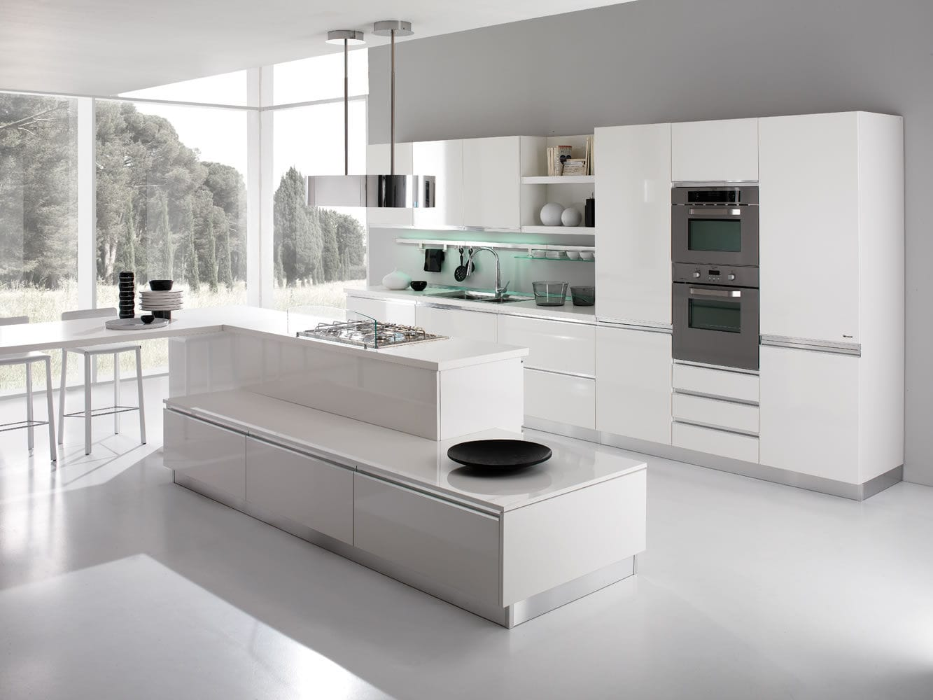 Cucine Con Isola Moderne. Cucine Moderne Con Isola By Meka With ...