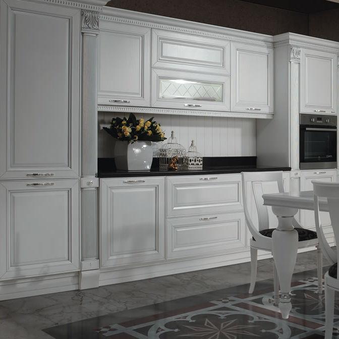 Cucina classica / in legno / a scomparsa - FIRENZE - Torchetti Cucine