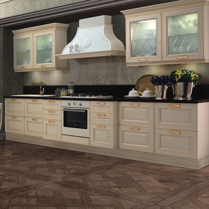 Cucina classica / in vetro / in legno / laccata - FIRENZE ...