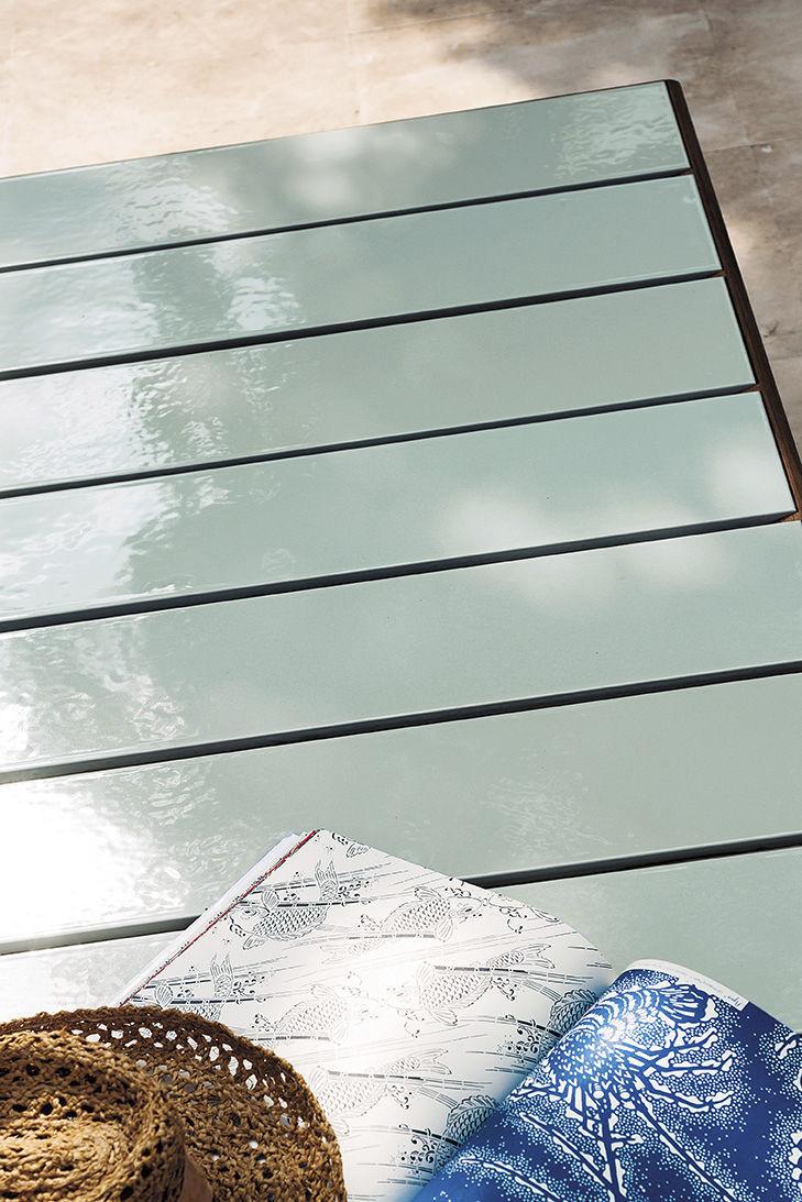 Roda Tavoli Da Giardino.Tavolo Da Pranzo Moderno In Teak In Ceramica Smaltata