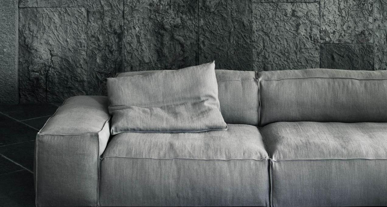 Divano modulare / moderno / di Piero Lissoni / 3 posti - NEOWALL ...