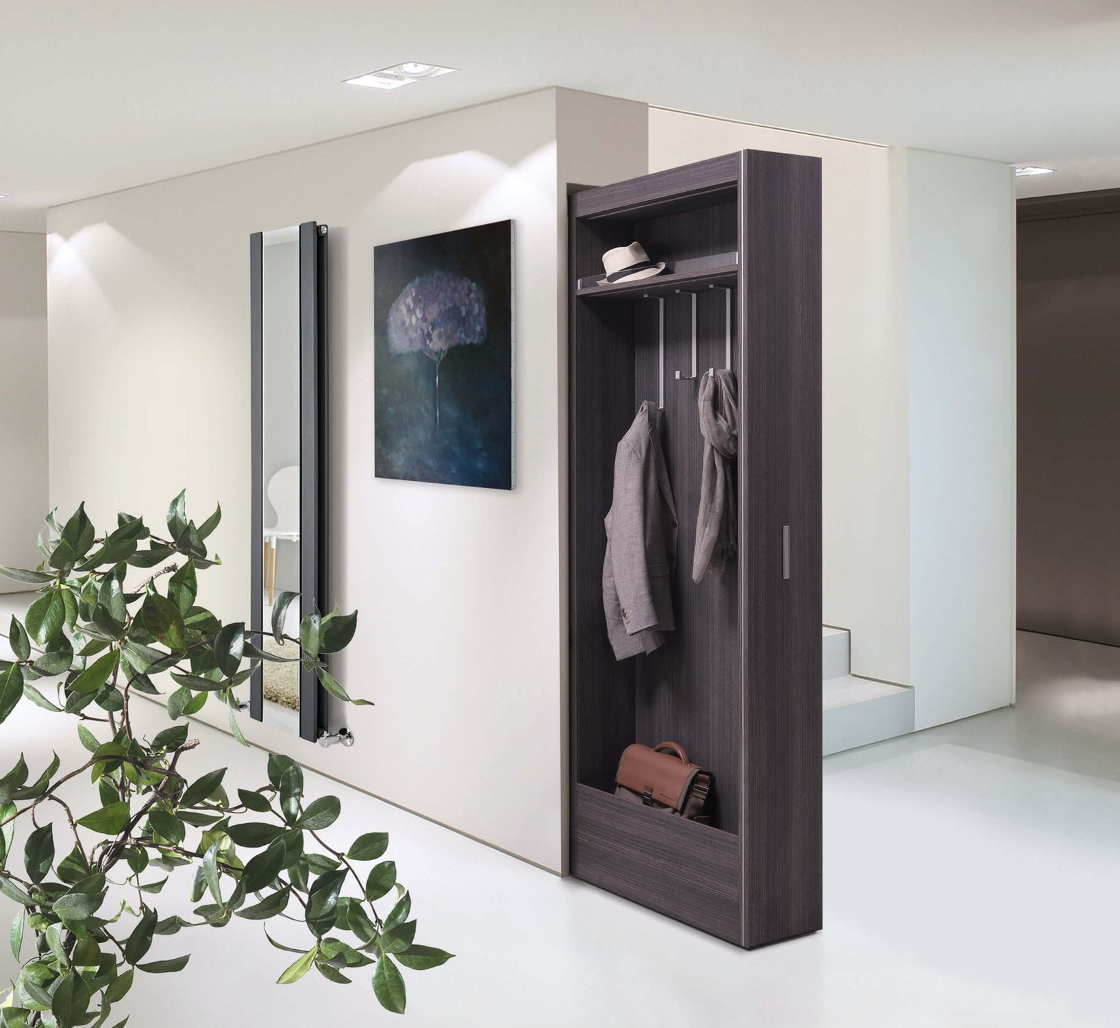 Cabina armadio moderna / in legno - BIGFOOT® MODULO CAPPOTTIERA ...