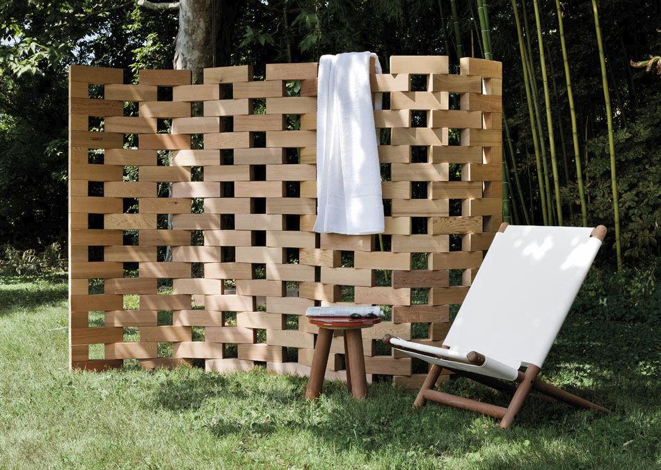 Paravento moderno / in legno / da giardino - ZEN by Ludovica ...